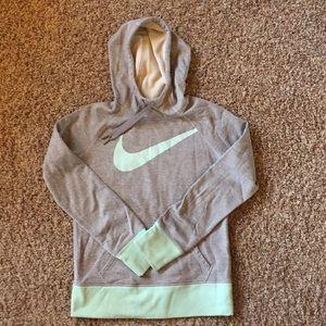 Mint & Grey Nike Hoodie